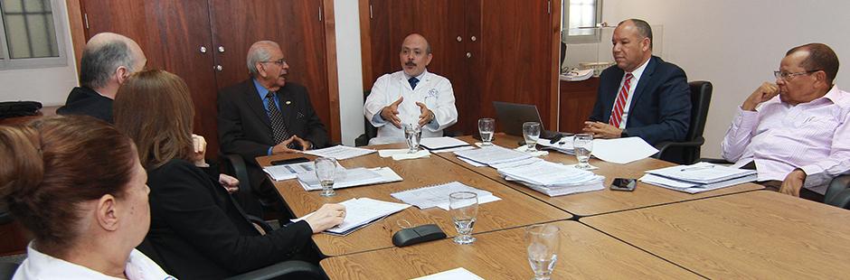 Miembros del comité ejecutivo del Consejo de Directores del Patronato de Lucha Contra la Lepra, Inc